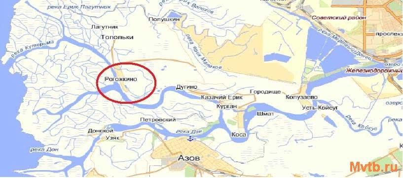 место для рыбалки в ростовской области