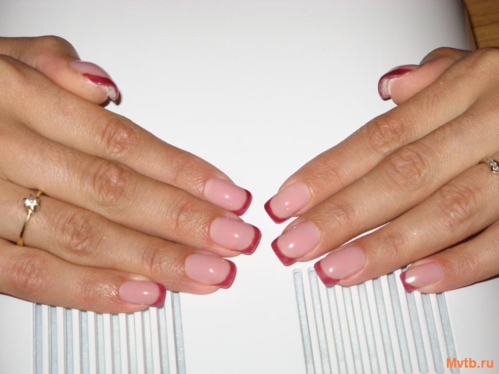Наращивание ногтей гелем ростов на дону