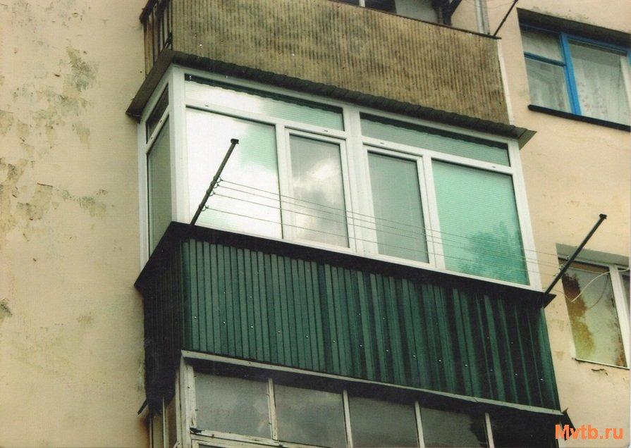 Ремонт, утепление, обшивка, отделка балконов.устали наблюдат.